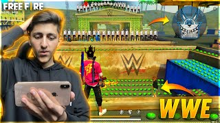Wwe In Freefire With As Gaming Funny Moments - Garena Free Fire