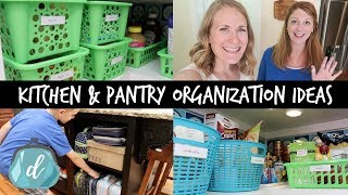 kitchen organization ideas pantry command center drop zone