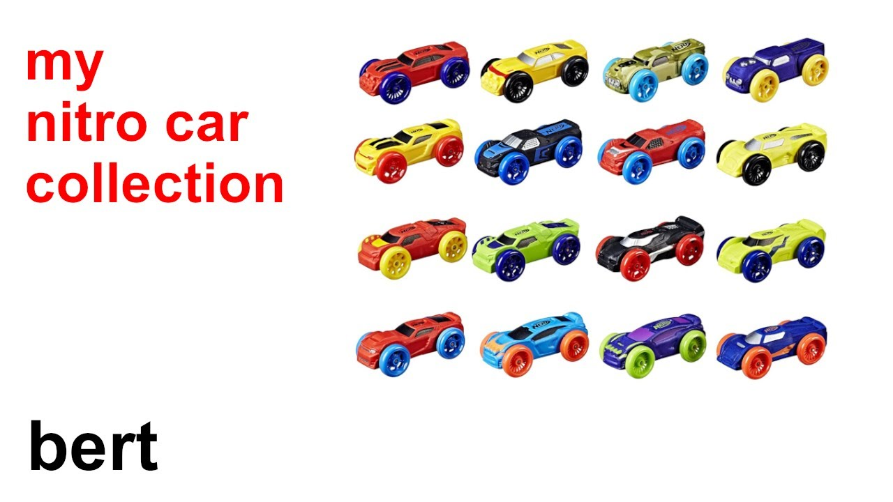 bert: my nitro car collection