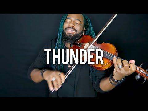 DSharp - Thunder (Violin Cover) | Imagine Dragons