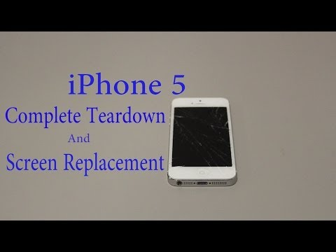 iPhone 5 Teardown - Step-by-Step Complete Disassembly Directions