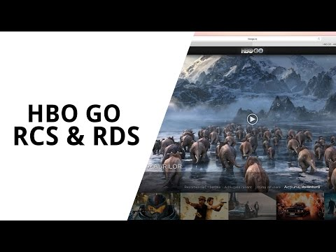 HBO GO disponibil pe RCS & RDS