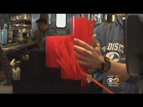 Malibu Bans Plastic Utensils, Straws