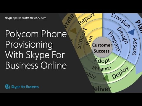 SOF: Polycom Phone Provisioning With Skype For Business Online