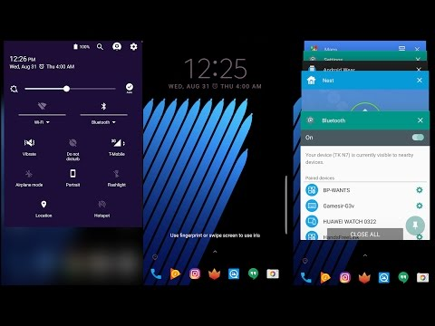 Upgrade your Note 7 UI with Samsung own Good lock app (works with S6 - note7)