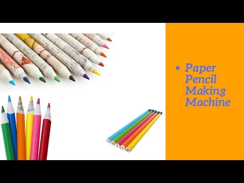 Paper Pencil Making Machine In India -- 09891268568