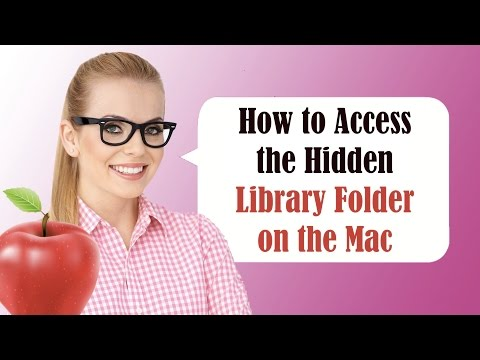 How to access your library folder on a Mac in Yosemite for iMac, MacBook Pro, & MacBook Air CC