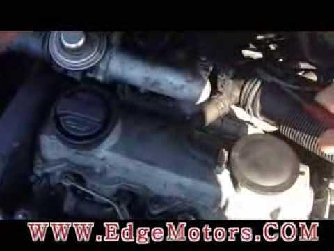 VW Jetta TDI 1.9T Coolant Temperature Sensor Replacement DIY by Edge Motors