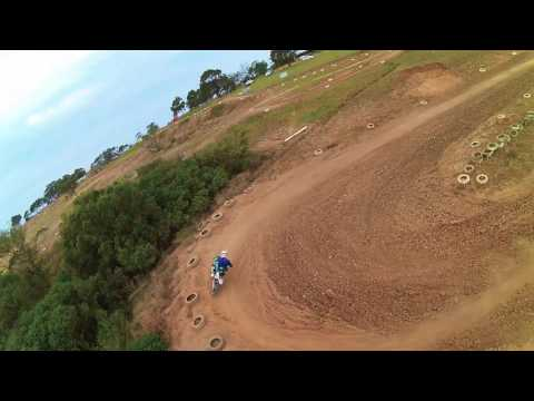 East london Motocross track from a different perspective