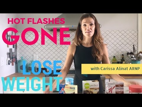 The Best Menopause Weight Loss Diet (NO MORE HOT FLASHES!)
