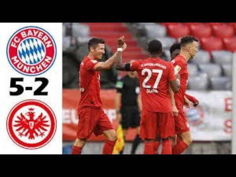 BUNDASLIGA:Bayern Munich vs Eintracht Frankfurt 5-2| all goals & extended highlights bundesliga 2020