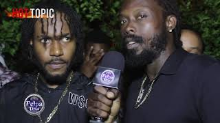Jahvillani DISS Chronic Law first interview since his REGGAE SUMFEST Performance /WAR TIME/ HOTTOPIC