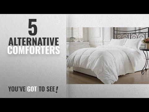 Top 10 Alternative Comforters [2018]: KingLinen White Down Alternative Comforter Duvet Insert