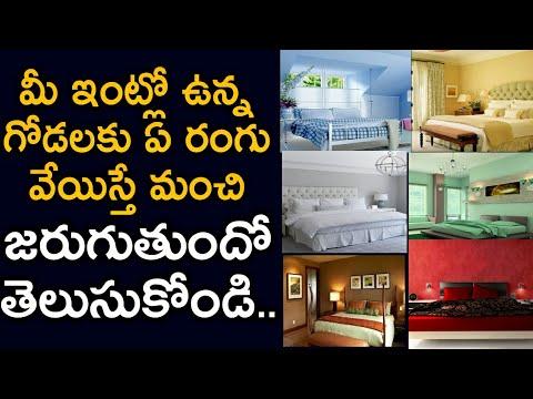 Choose Right Colors According to Vastu for Your Home | మీ ఇంట్లో గోడలకు ఏ రంగు వేస్తే మంచిది