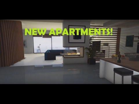 New $1,100,000 Penthouse and $800,000 Stilt House Interior!