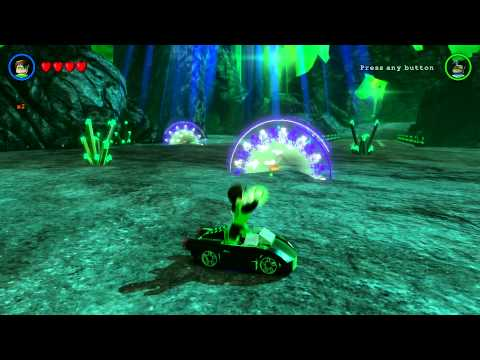 LEGO Batman 3: Beyond Gotham - Oa Free Roam (Bruce Wayne Sports Car Unlock and Gameplay)