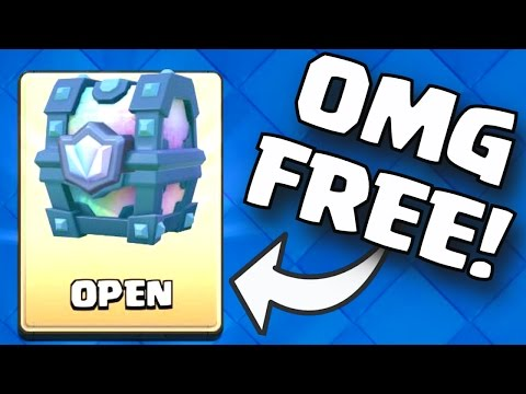 FREE LEGENDARY CHEST! Clash Royale HOW TO GET A FREE LEGENDARY CHEST / EPIC CHEST CYCLE (NOT RANDOM)
