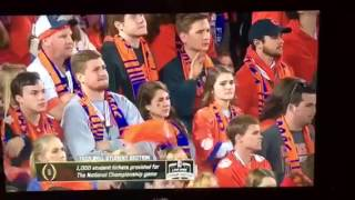 Taco Bell Student Section Un-Fan Quiet Crowd Competition :: Alabama vs. Clemson