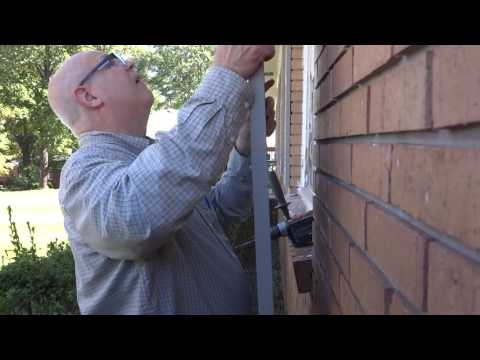 Installing Shutters on a Brick House