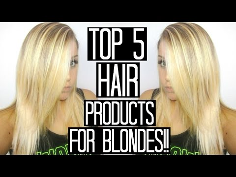 BEST BLONDE HAIR PRODUCTS | Top 5 + Tips for Healthy Hair!!