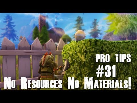 Fortnite Early & End Game No Resources | Best Tips | How to Win Solo #31
