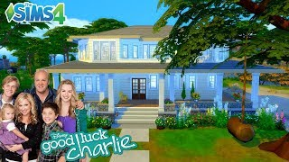 Sims 4: Good Luck Charlie Speed Build- Collab w/ BVA Builds