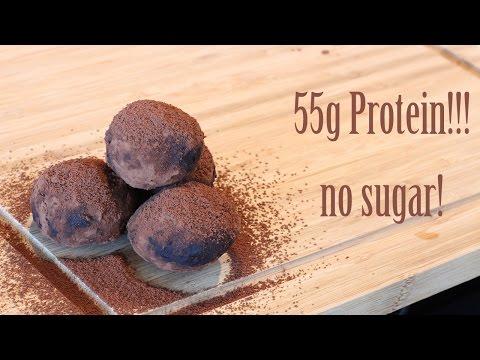 Fit cocoa truffles no sugar!