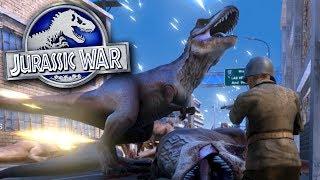 JURASSIC WAR!!!   Ultimate Epic Battle Simulator HD
