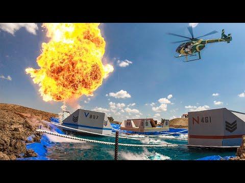 Helicopter Battleship Battle   Dude Perfect