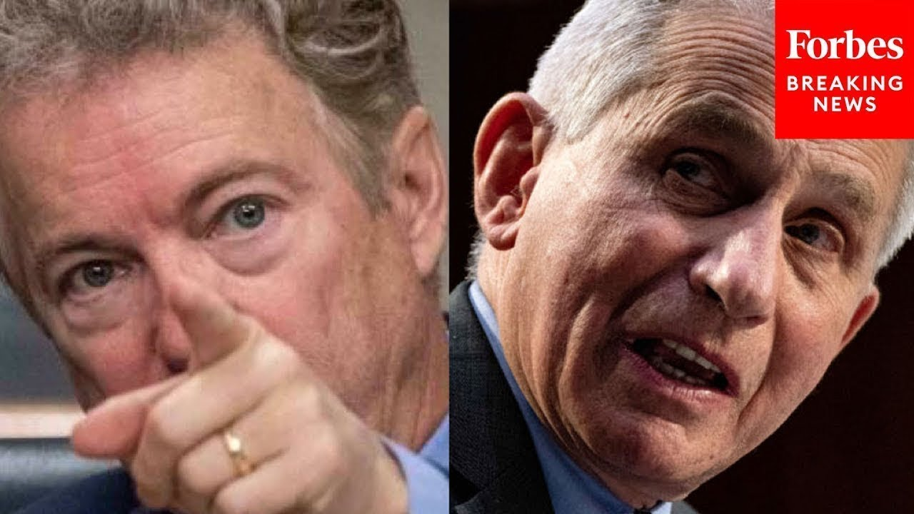JUST IN: Rand Paul Clashes With Fauci Over NIH Money To Wuhan Virology Institute