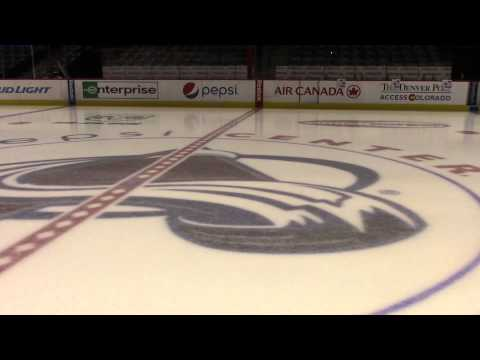 Pepsi Center: How they make ice for the Colorado Avalanche hockey team