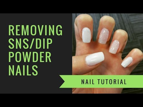 SNS or Dip Powder Removal | At Home Nails | jiannajay
