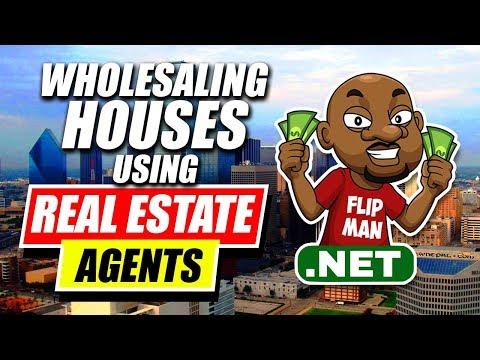 Wholesaling Houses Using Realtors / Real Estate Agents | Wholesaling Houses Listed on MLS #flipman