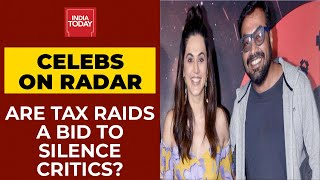 I-T Raids On Bollywood Bigwigs: Taapse, Kashyap Under Lens; Are Tax Raids A Bid To Silence Critics?