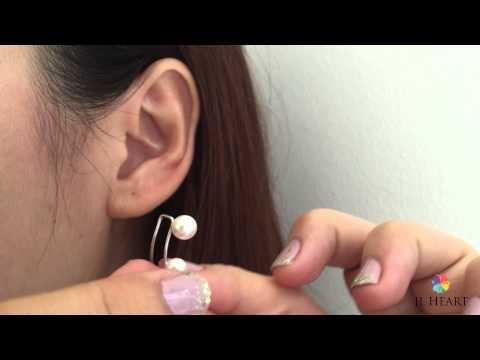 How to wear ear climbers