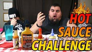 HOTTEST HOT SAUCE CHALLENGE!!! 🔥🔥