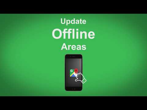 Google Maps   Update Offline Areas