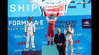Highlights Marrakesh ePrix - 2017/2018 ABB FIA Formula E - Michelin Motorsport