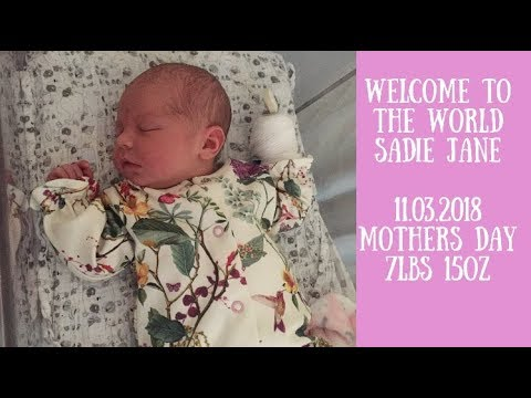 SADIE JANE | WELCOME TO THE WORLD