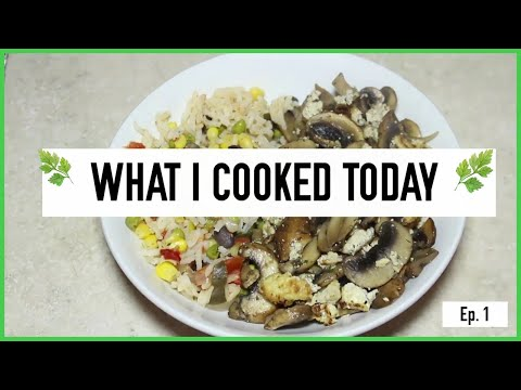 WHAT I COOKED TODAY  EP. 1 MUSHROOMS