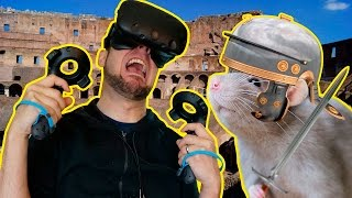 RIGHT IN THE BUTTHOLE ★ Arena: Blood On The Sand Gameplay (Gladiator VR Game)