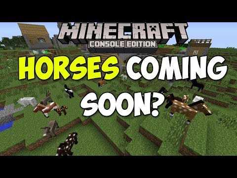Minecraft Xbox & PS3: Horses Coming To Console Soon? | Investigation