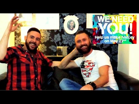 Marriage Equality, Ireland ,   Referendum Vote Yes May 22nd 2015