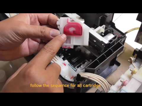How to Change Ink type on Epson L300