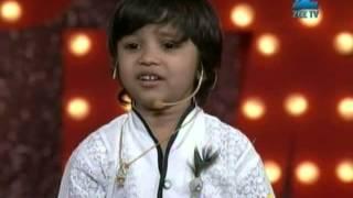 Indias Best Dramebaaz March 10, 2013 - Zenith Patel