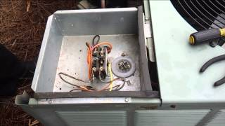 Ac Not Blowing Cold Air Ac Troubleshooting How To Test A Capacitor Ai