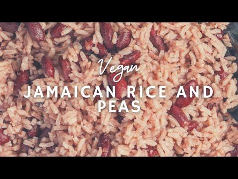 How To Make Easy Jamaican Rice & Peas | Gluten-free Vegan | Korenn Rachelle