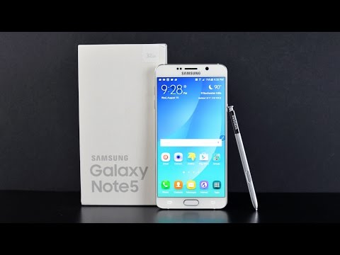 Samsung Galaxy Note 5: Unboxing & Review