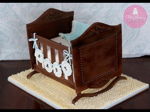 How to Make a Cradle Cake; A McGreevy Cakes Tutorial