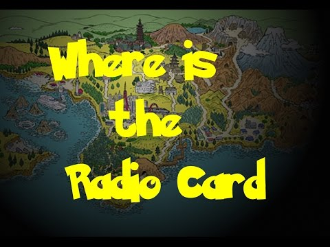 Where Is: The Radio Card (Pokemon Gold/Silver/Crystal)